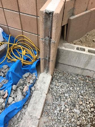 化粧ブロック塀の処分-ブロック塀の回収と解体処分-神奈川県三浦市南下浦町の工事実績