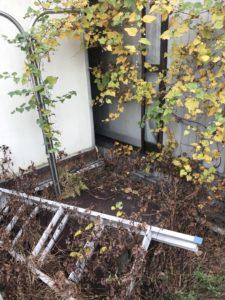 草刈り。神奈川県横浜市港南区最戸-草刈り・お庭の掃除の実績