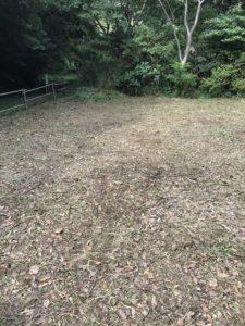 草刈り – 神奈川県三浦市野比の草刈り作業風景